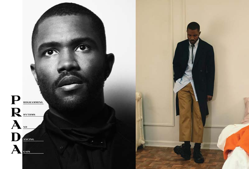 Frank Ocean by David Sims for Prada