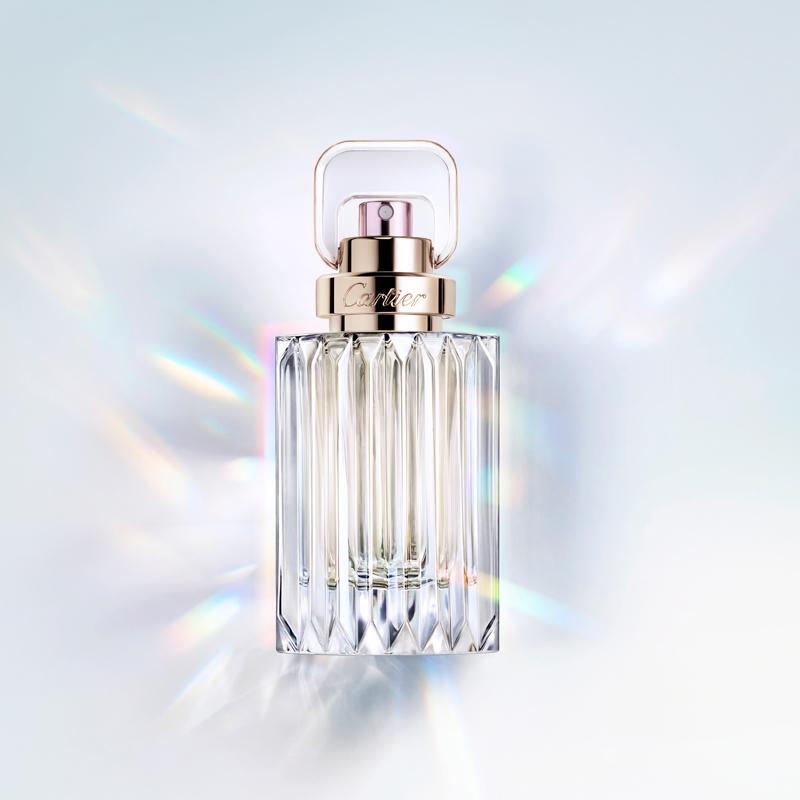Le parfum Carat de Cartier. Photo : Iris Velghe/Cartier