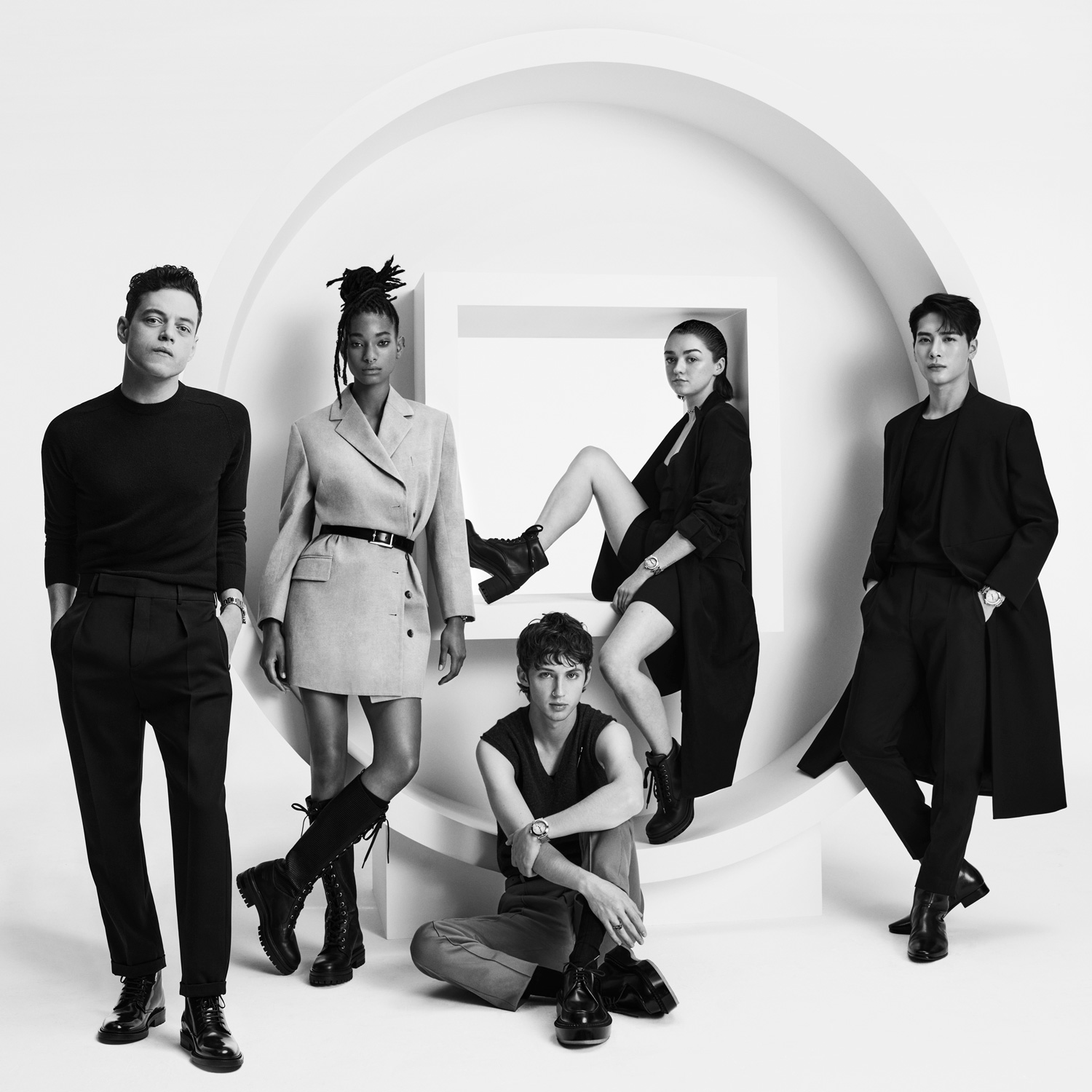 Rami Malek, Willow Smith, Troye Sivan, Maisie Williams et Jackson Wang par Craig McDean pour Cartier