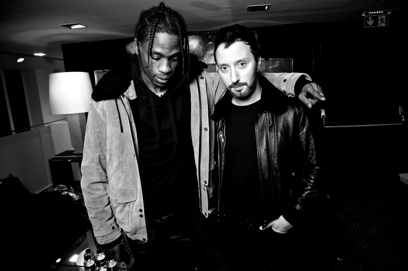 Travis Scott et Anthony Vaccarello