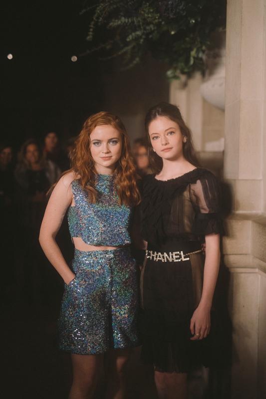 Sadie Sink et Mackenzie Foy