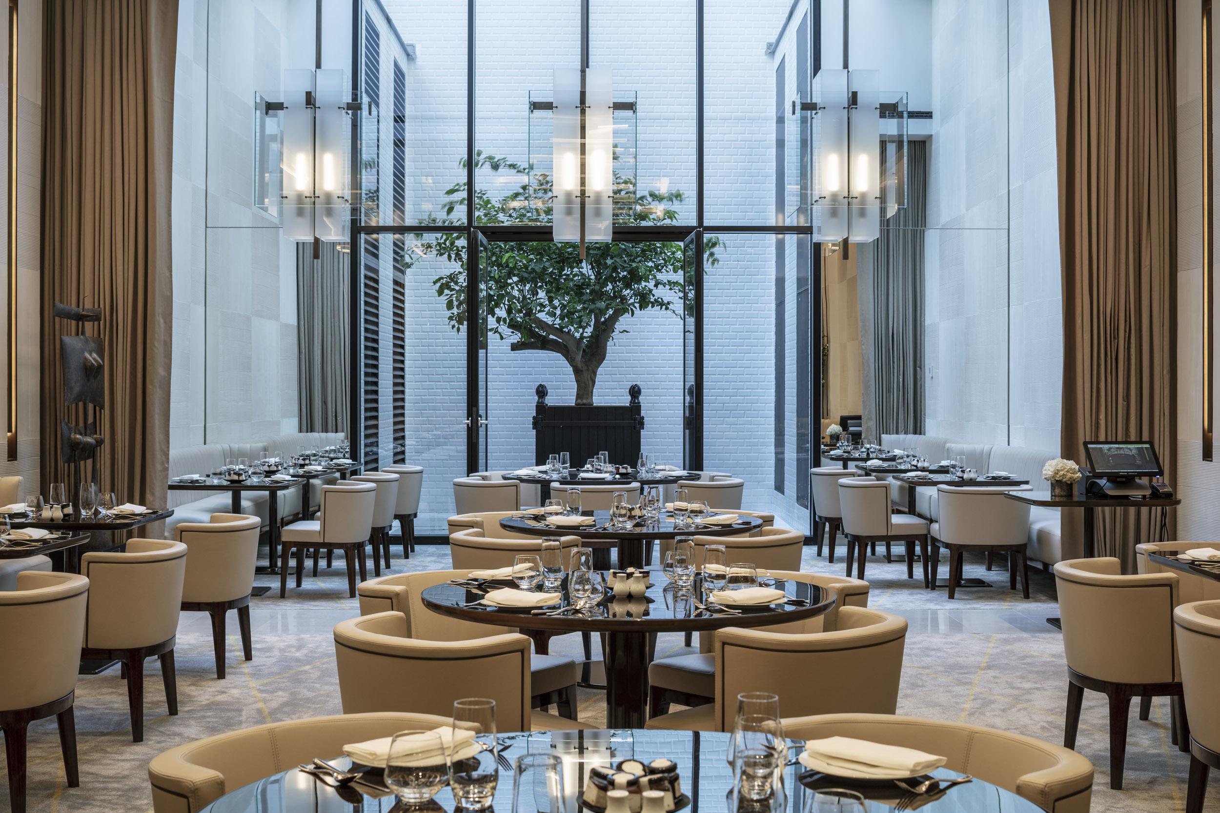 Le restaurant L'orangerie du Lutetia