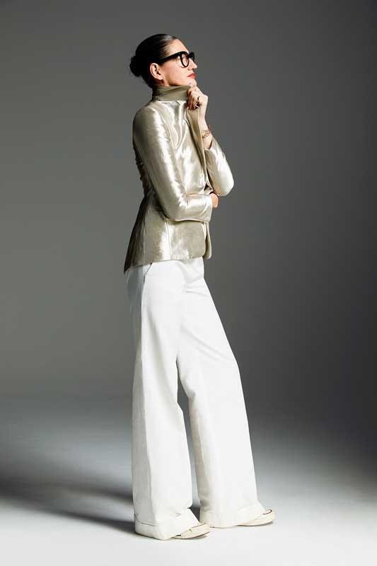 La veste de Jenna Lyons, directrice artistique.