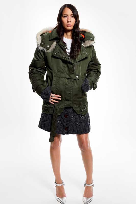 Le bomber de Mélanie Huynh, styliste et consultante.