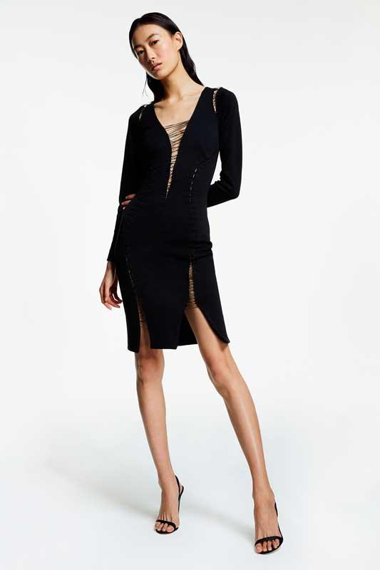La robe noire de Shu Pei Qin, mannequin.