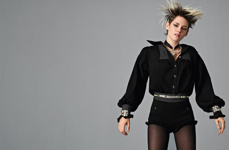 Kristen Stewart par Jean-Baptiste Mondino pour Chanel printemps-été 2020