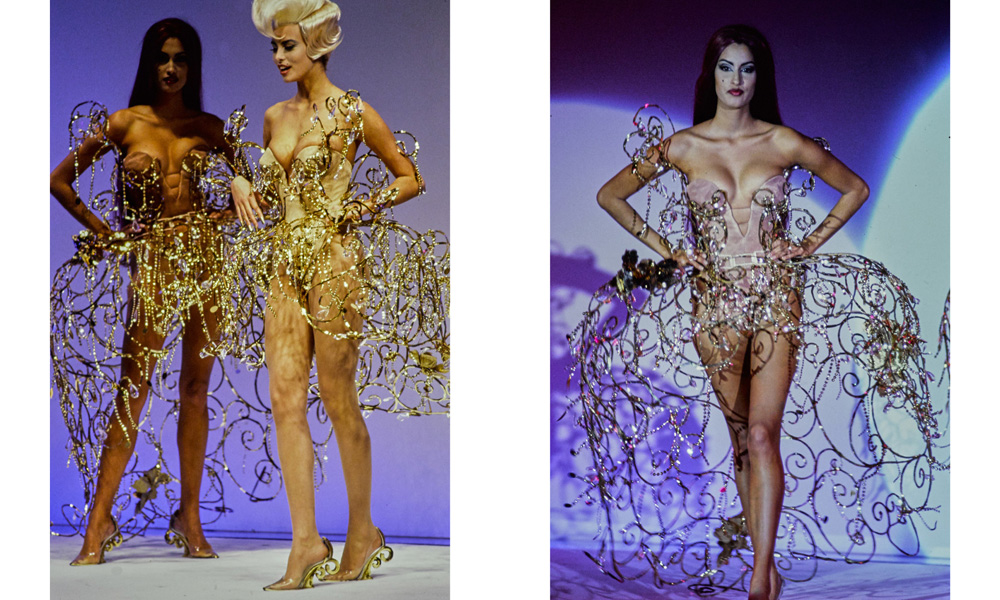 Thierry Mugler haute couture spring 1992