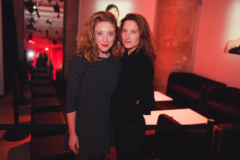 Julia Piaton et Sarah Stern