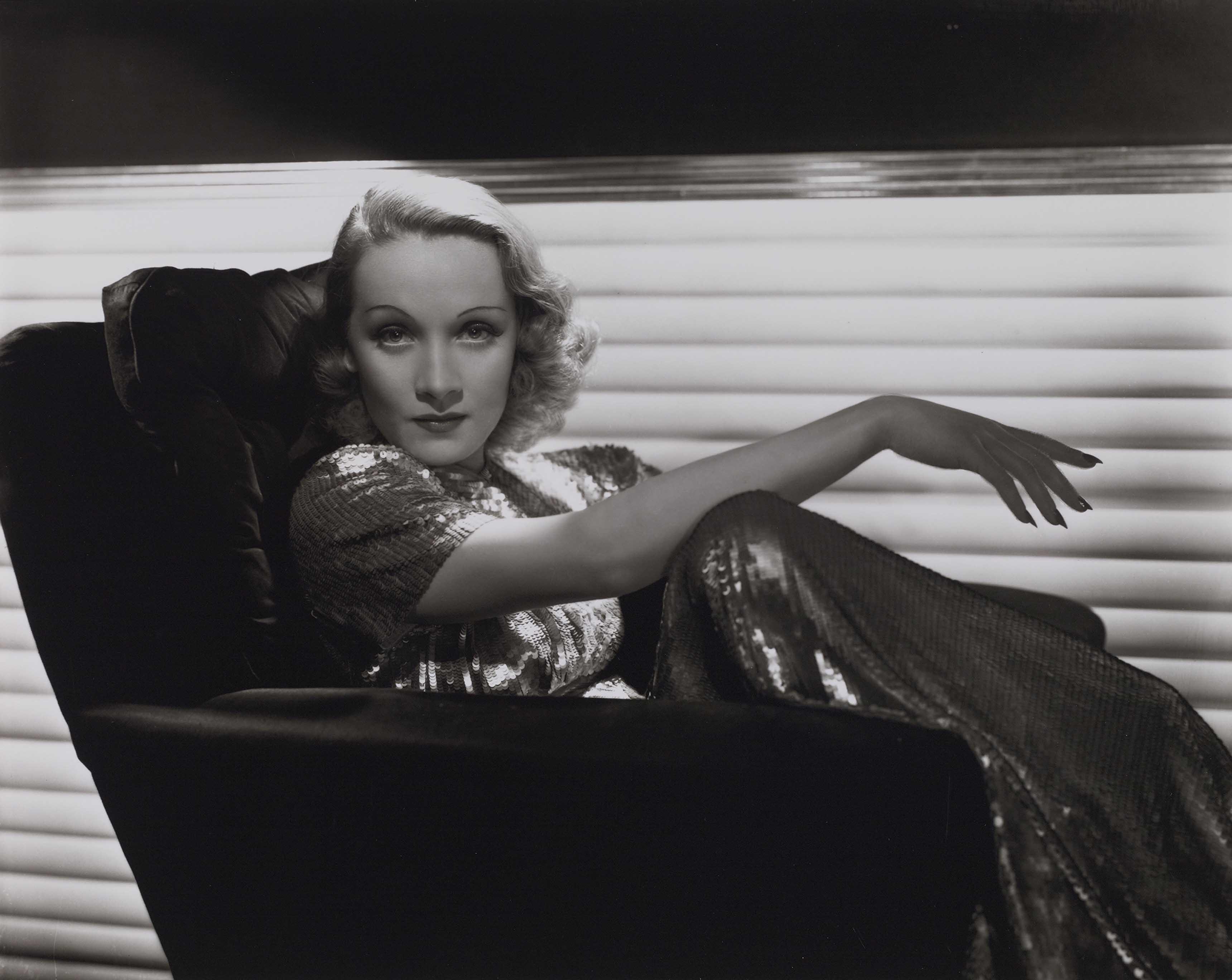 George Hurrell Marlene Dietrich, vers 1935-1936 © Bridgeman Images