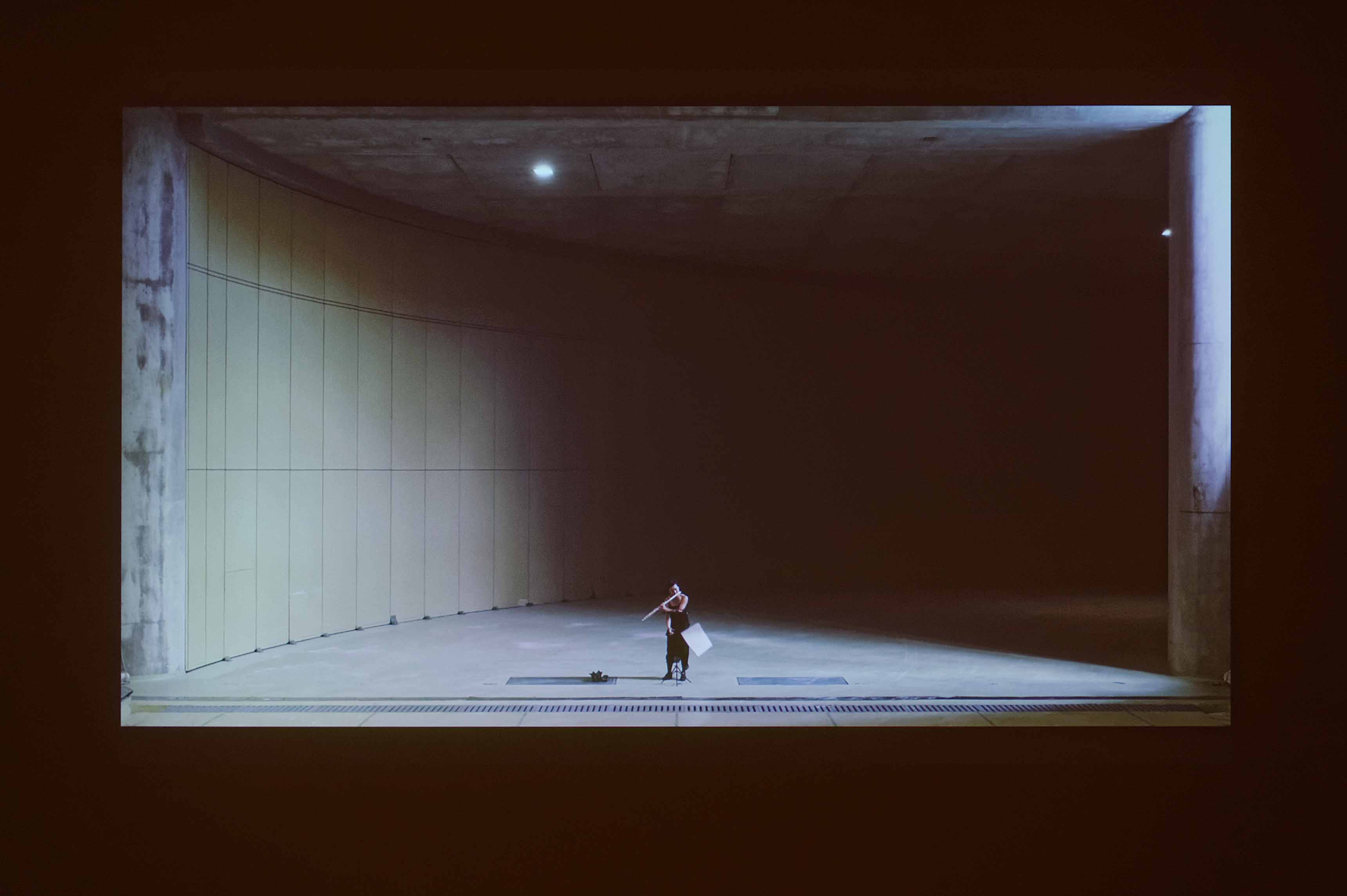 ORTEGA Fernando, Flute concert film, 2017, Courtesy de l'artiste, Biennale de Lyon 2017 © Blaise adilon
