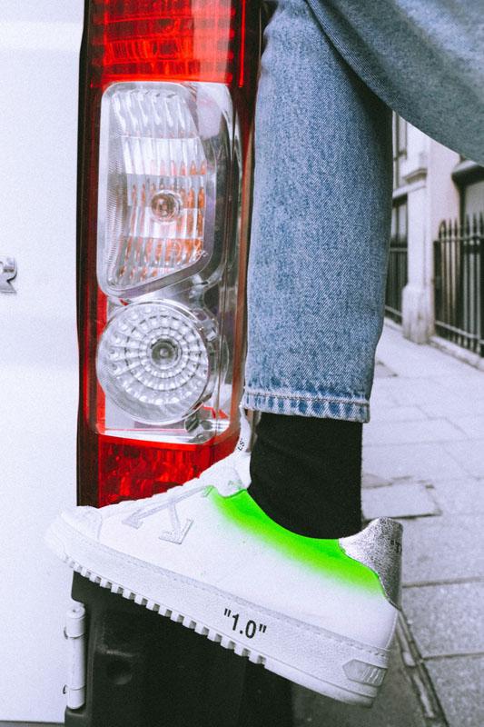 """Chaussures ow, issues de la collection exclusive pour le pop-up """"Floral Shop"""", photo chilldays plakov"""