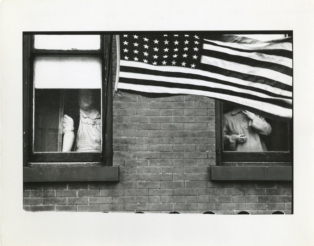 "Robert Frank, ""Parade - Hoboken, New Jersey"" (1955-56)"
