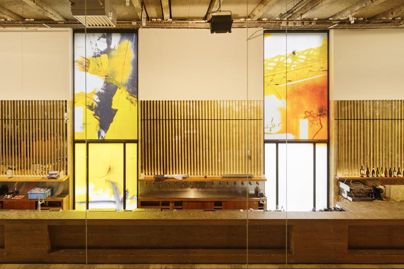 Futura 2000, « Violent Treasure ». Vue d'exposition, Palais de Tokyo, Paris, juin 2020. Crédit photo : Aurélien Mole