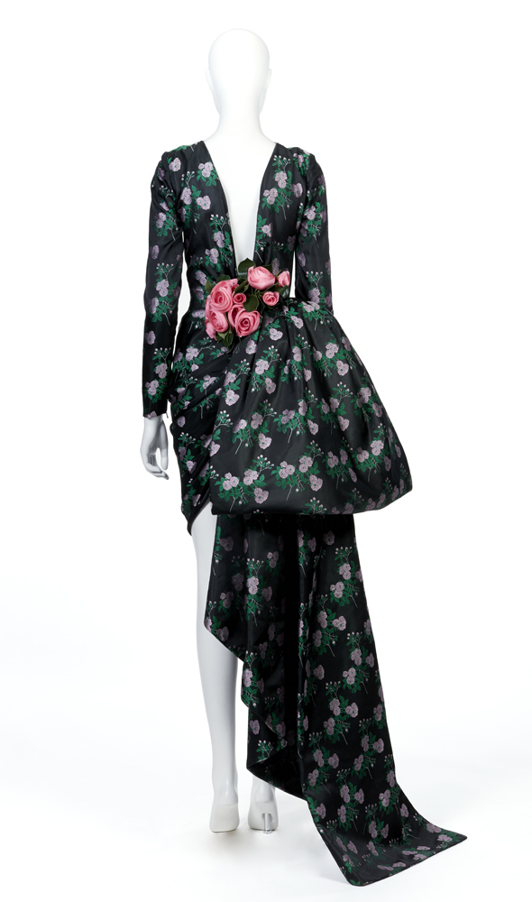 Jean Patou par Christian Lacroix, Robe du soir, Haute couture, Automne-Hiver 1986-87. © Aurélie Dupuis / Galliera / Azentis.