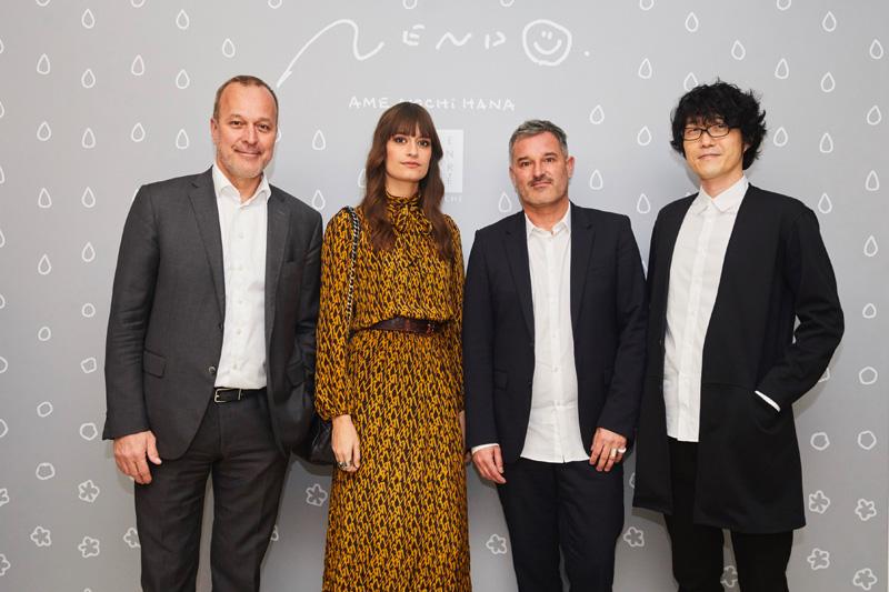 Patrice Wagner, Clara Luciani, Frederic Bodenes, Oki SAto