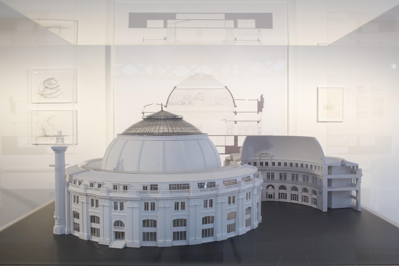 Architectures Japonaises à Paris, 1867-2017 au Pavillon de l'Arsenal, 2017 © Antoine Espinasseau