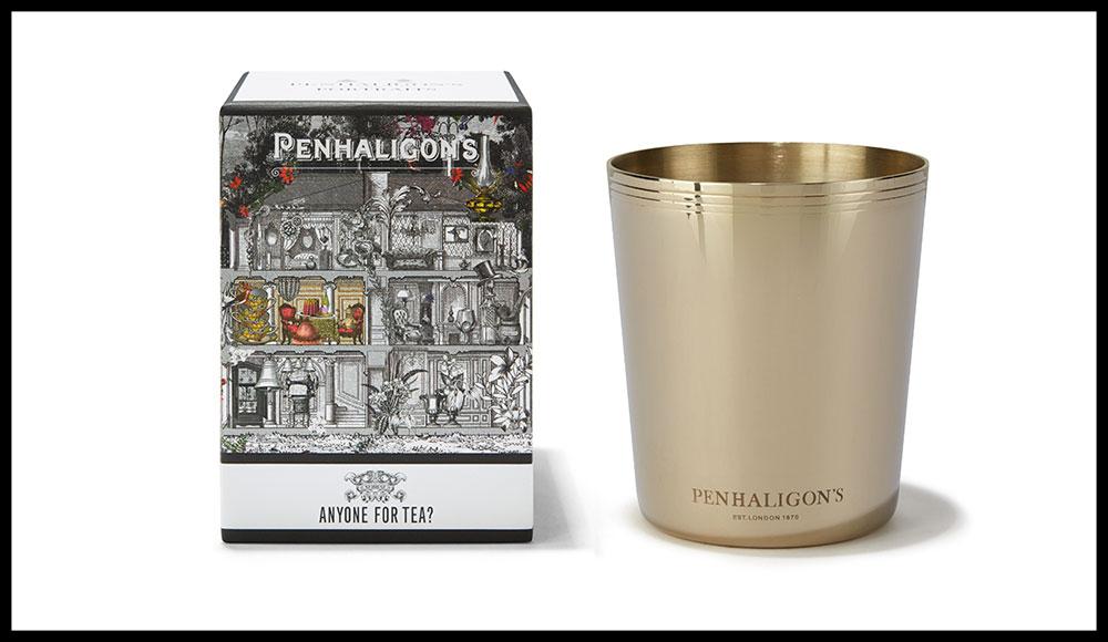Les personnages fantaisistes de la ligne de parfums Portrait occupent un manoir imaginaire au sein duquel chaque pièce a son odeur. Les Bougies Portraits, PENHALIGON'S. 80 euros les 250 g.