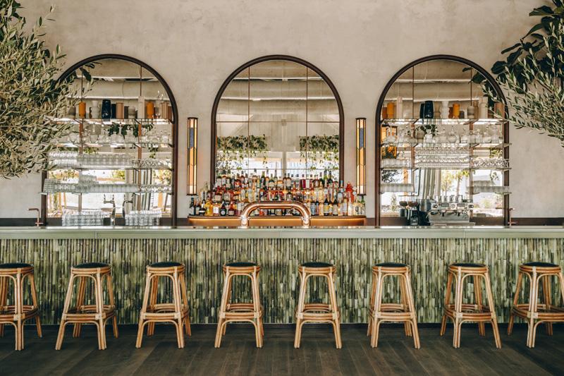 Bar en céramique de bambou © Le Perchoir