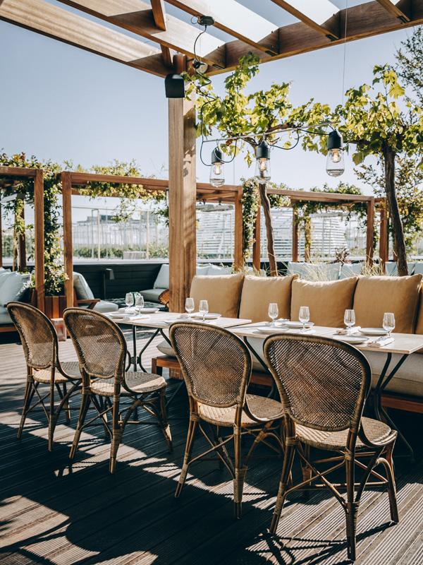 Terrasse © Le Perchoir