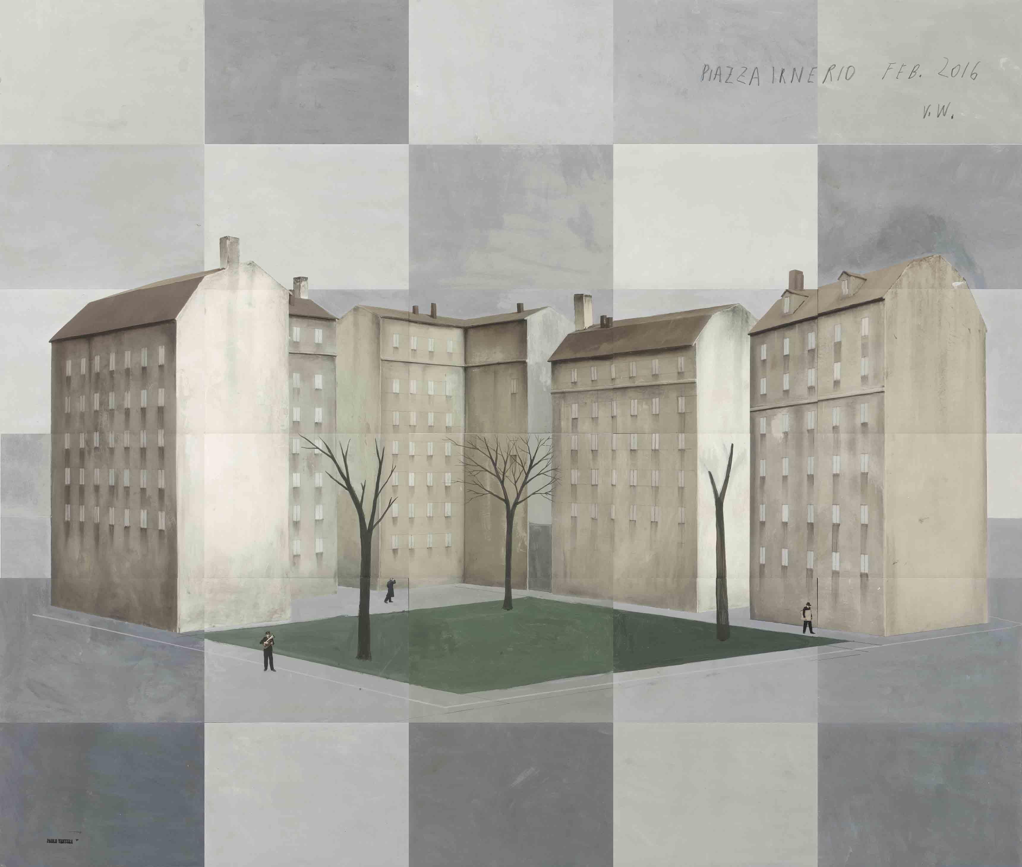Piazza Irnerio  - Paolo Ventura