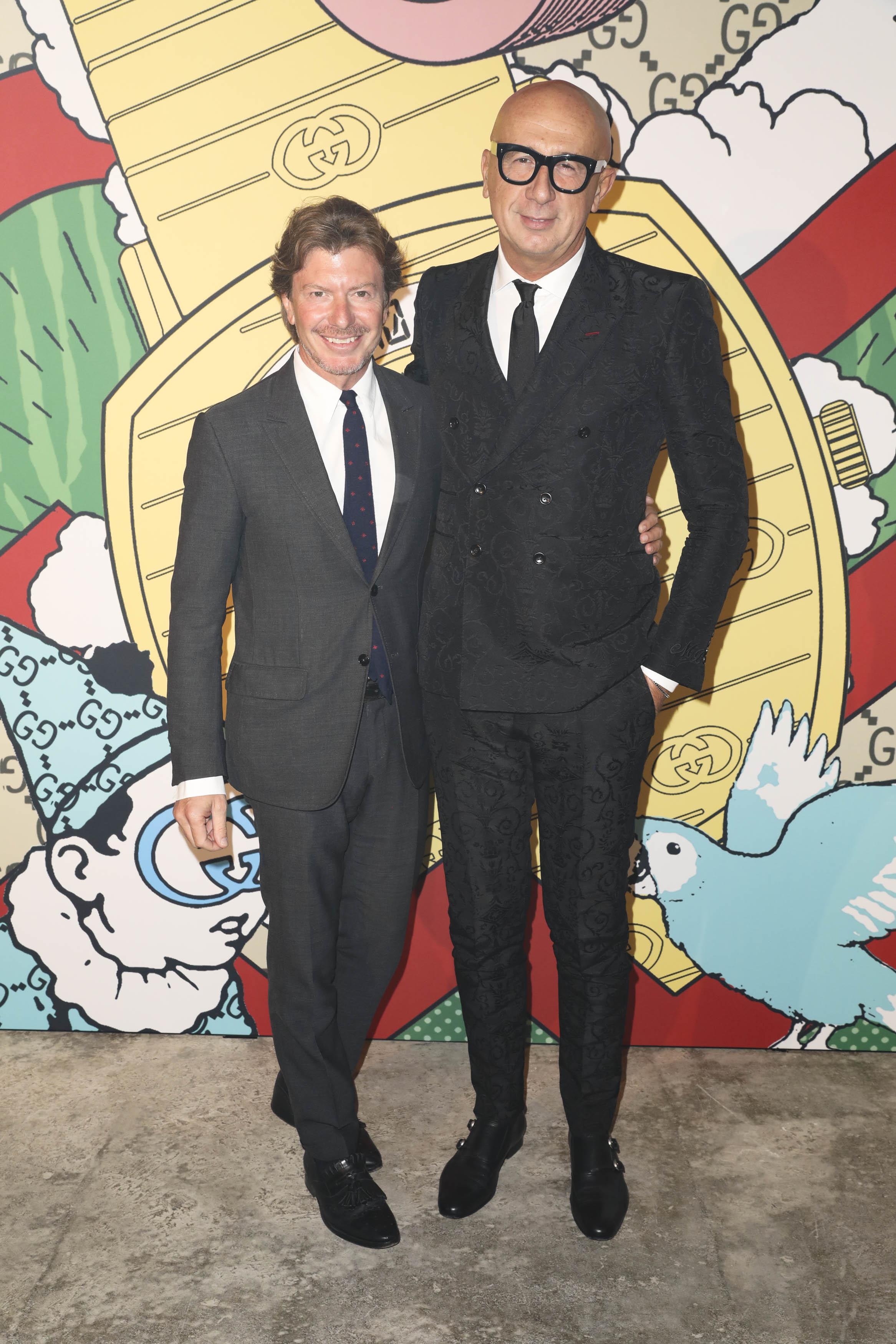 Piero Braga et Marco Bizzarri
