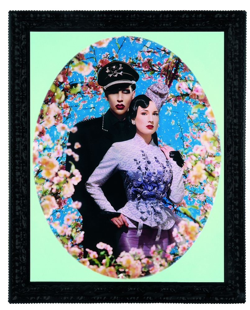 """Pierre et Gilles, """"Le Grand Amour (Marilyn Manson et Dita Von Teese)"""",(2004)"""