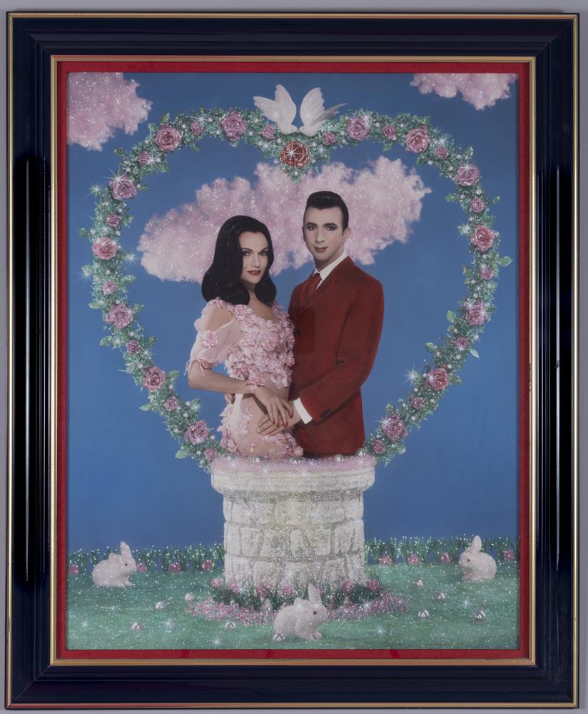 """Pierre et Gilles, """"Le mystère de l'amour (Marie France et Marc Almond)"""", 1992"""