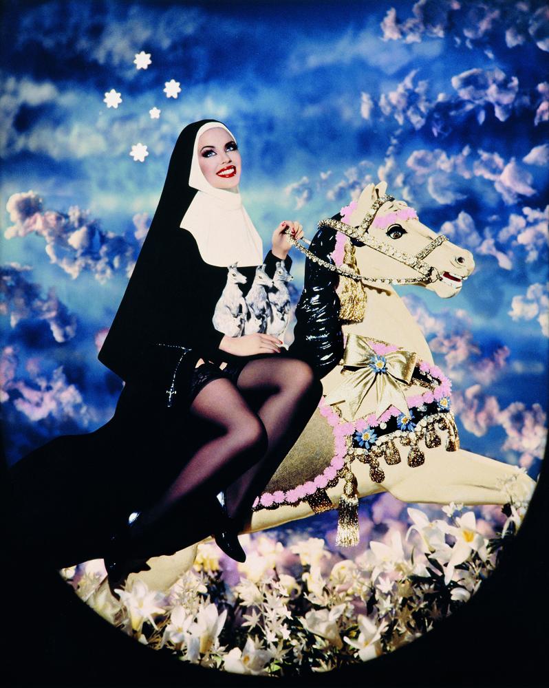 """Pierre et Gilles, """"Sainte Mary MacKillop (Kylie Minogue)"""" (1995)"""