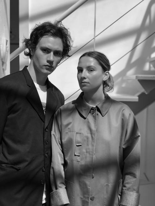 Pierre Kaczmarek et Elena Mottola du label Afterhomework