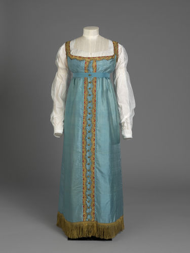 Princess Charlotte's Russian-style Dress c. 1817 Royal Collection Trust / © Her Majesty Queen Elizabeth II