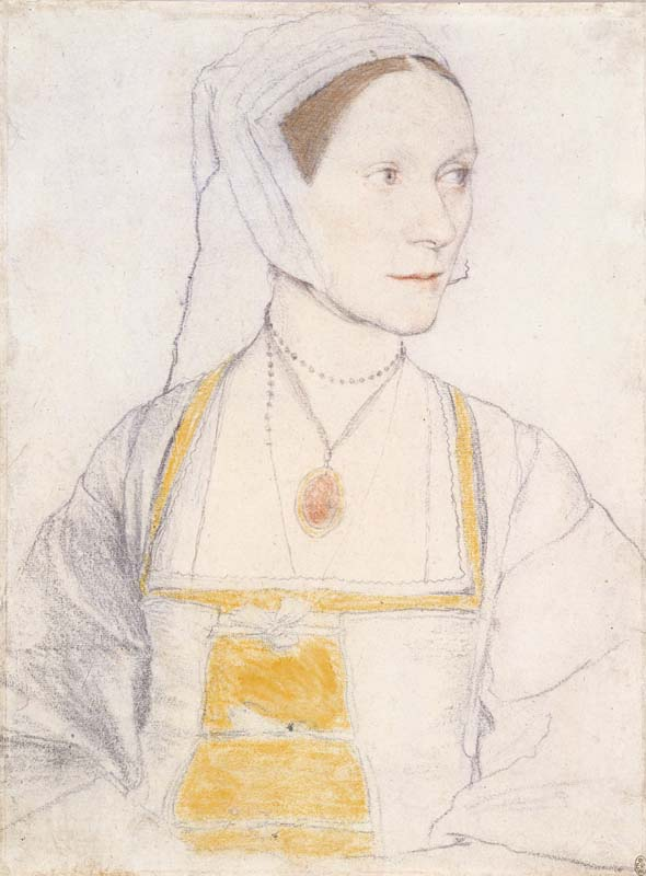 Hans Holbein II, Cecily Heron, daughter of Sir Thomas More, c.1527 Royal Collection Trust / © Her Majesty Queen Elizabeth II