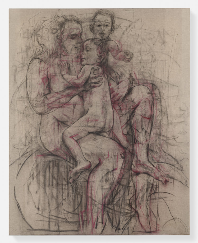 Jenny Saville, Electra, 2012-2019 © Jenny Saville. Photo: Prudence Cuming Associates. Courtesy the artist and Gagosian.