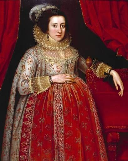 Marcus Gheeraerts II Portrait of a Woman in Red, 1620 © Tate
