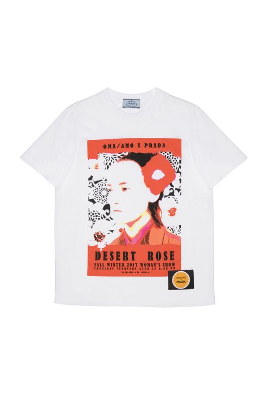 T-shirt Pin Up de Prada automne-hiver 2017-2018