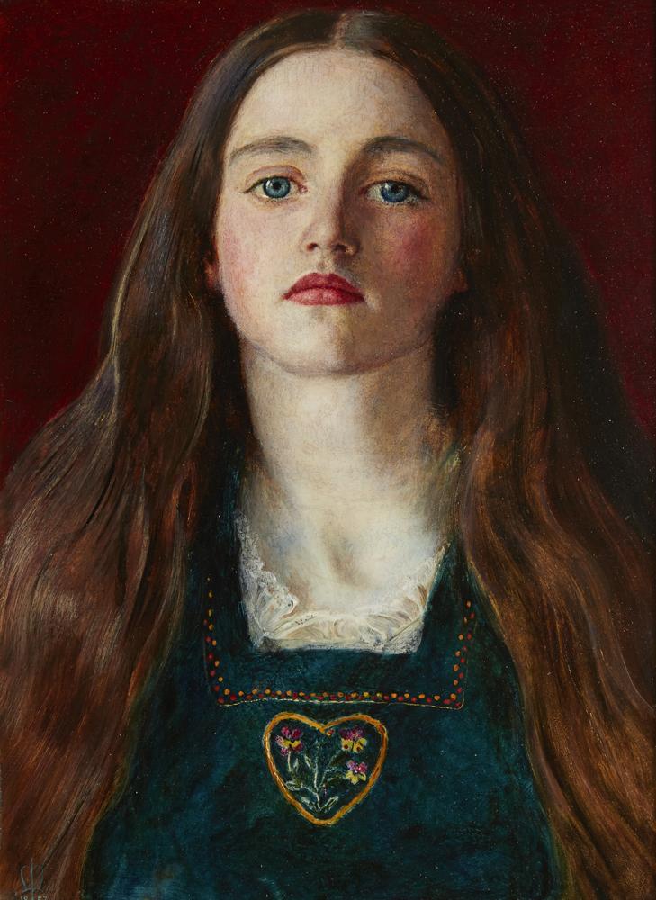 """Sophie Gray"" par John Everett Millais"