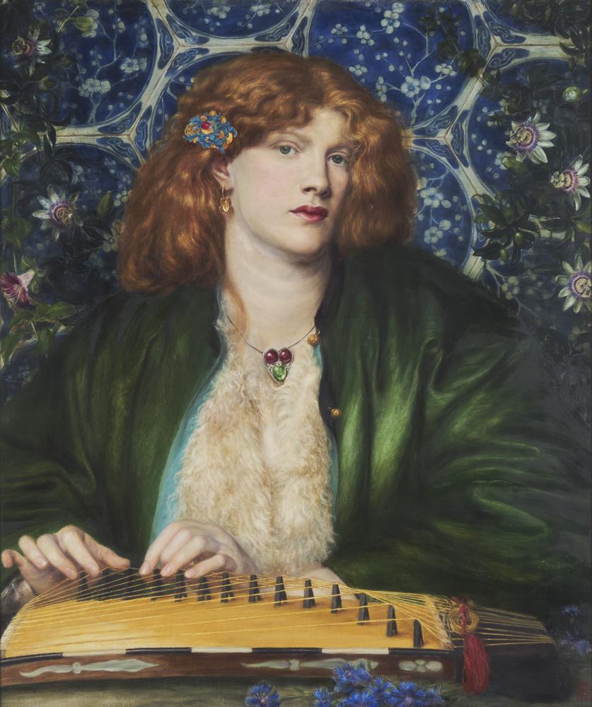 """""""The Blue Bower"""" par Dante Gabriel Rossetti."""