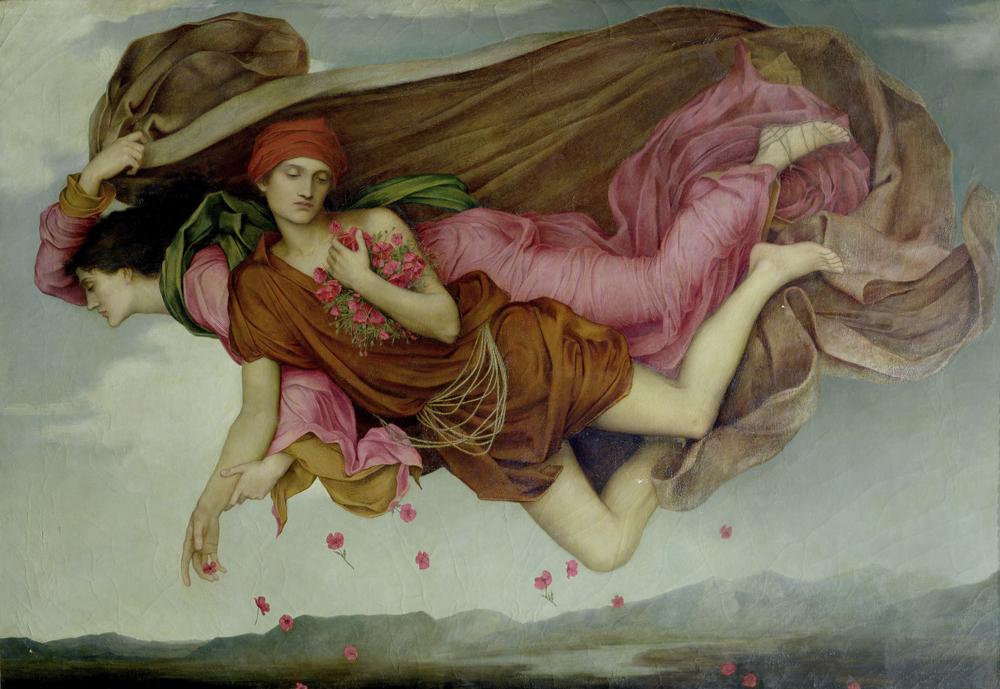 """Night and Sleep"" par Evelyn De Morgan"