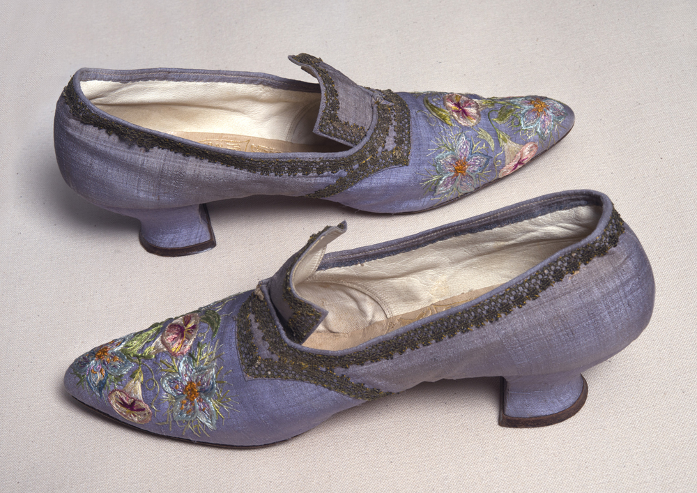 """Embroidered Shoes"" Marie Spartali Stillman"