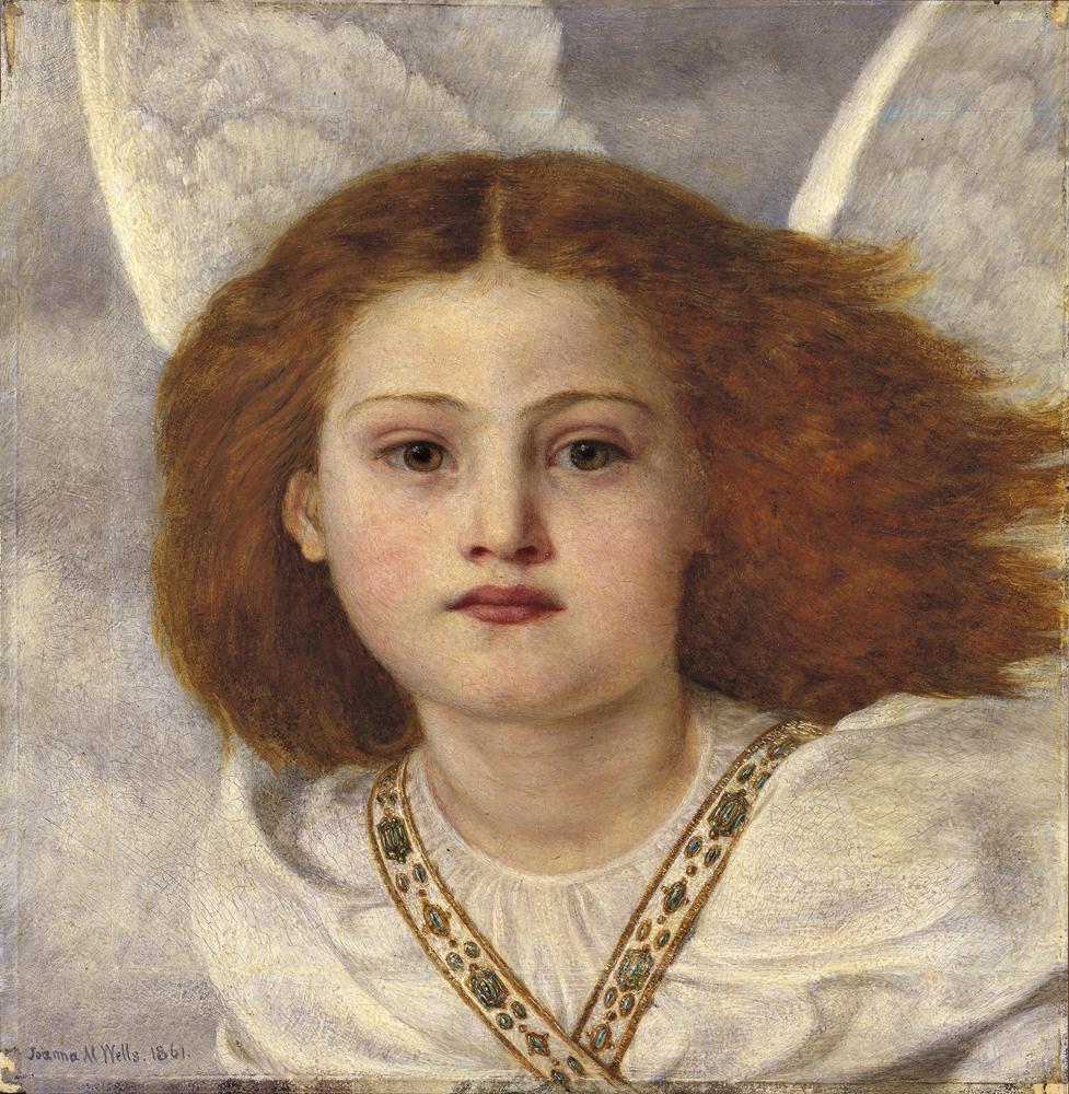 """Thou Bird of God"" par Joanna Boyce Wells."