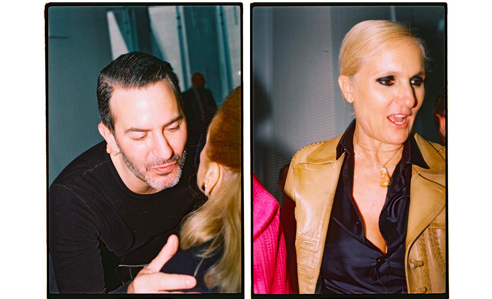 Marc Jacobs et Maria Grazia Chiuri