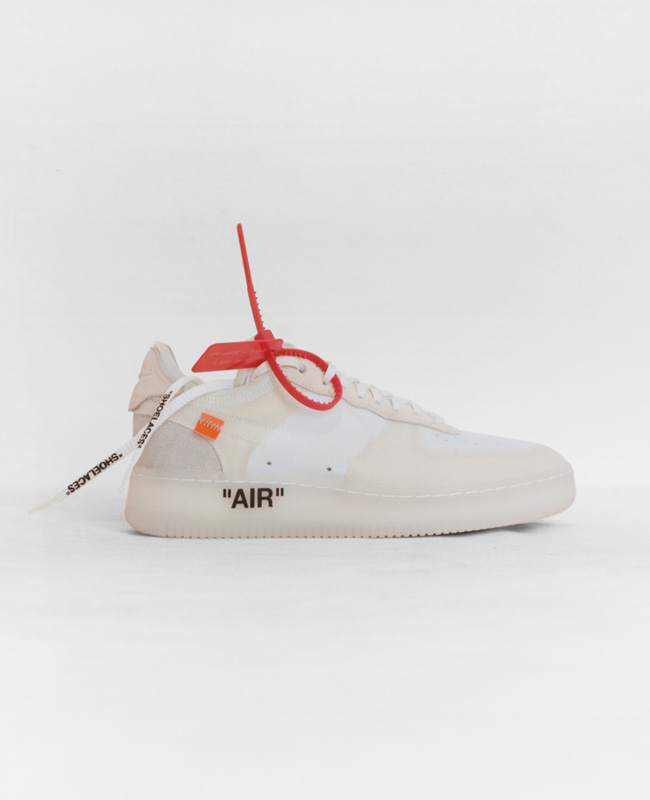The Ten: Nike Air Force 1 Low x Virgil Abloh