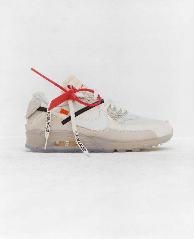 The Ten: Nike Air Max 90 x Virgil Abloh
