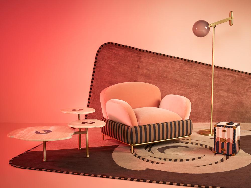 "Collection ""Back Home"", Fendi & Fendi Casa par Cristina Celestino. Photographie d'Omar Sartor."