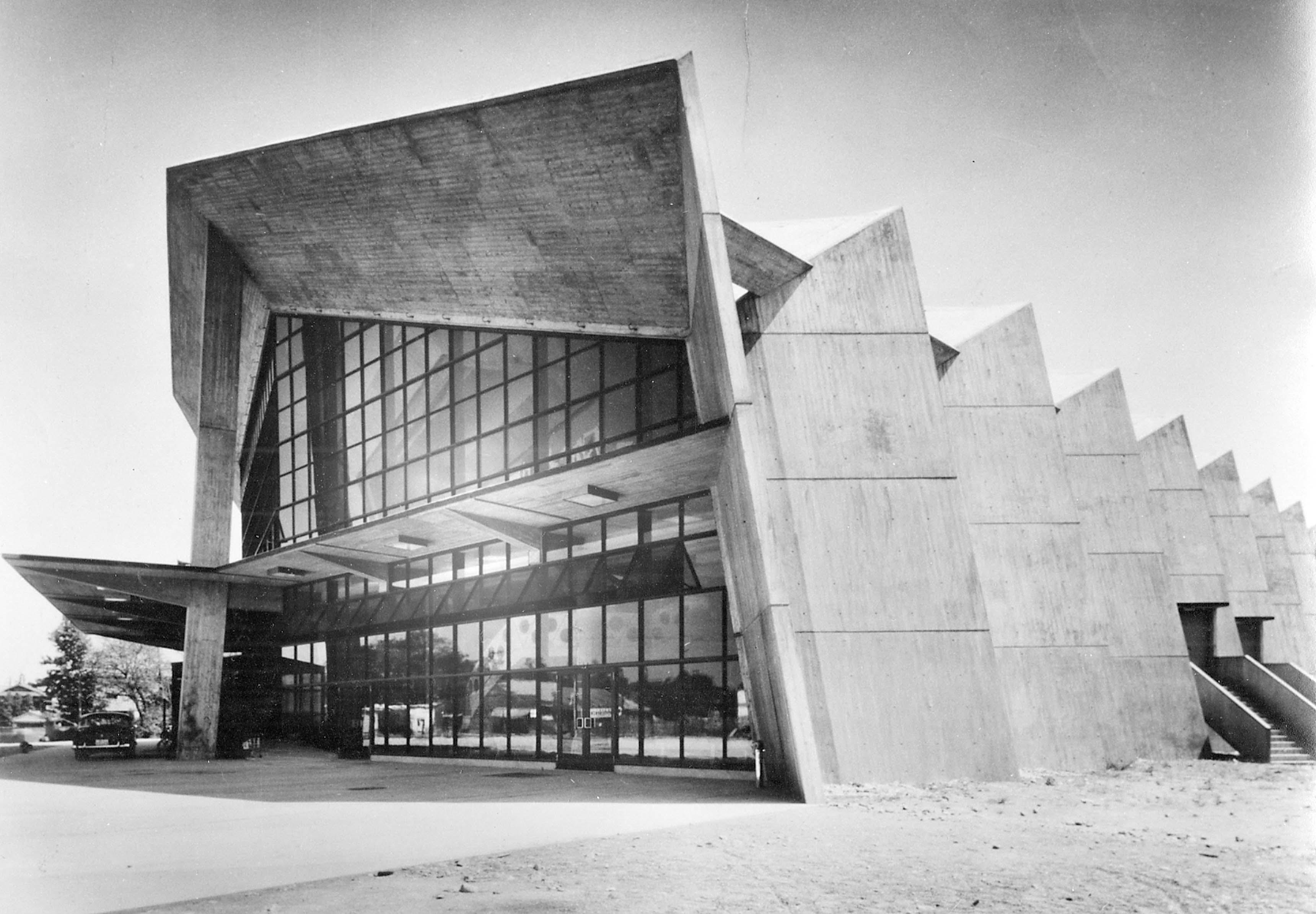 Antonin Raymond, Centre musical de la préfecture de Gunma, Takasaki, 1961