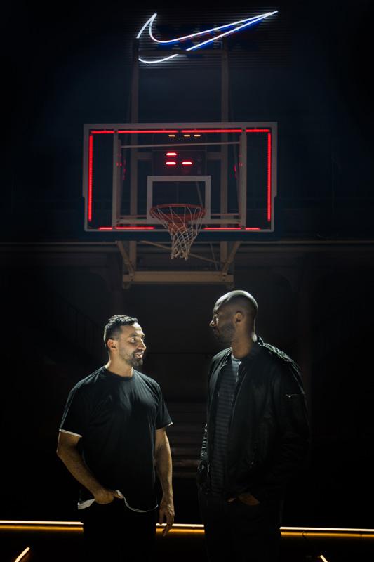 Riccardo Tisci et Kobe Bryant