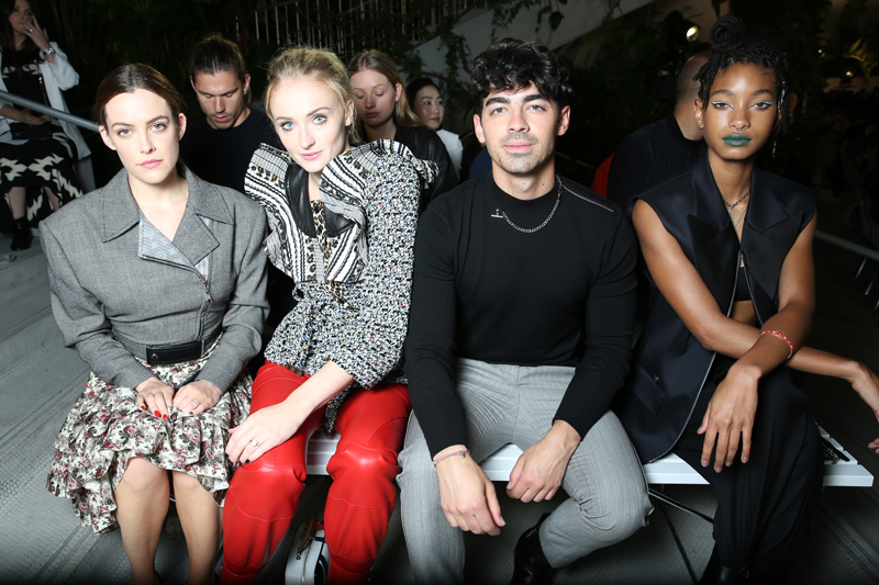 Riley Keough, Sophie Turner, Joe Jonas et Willow Smith