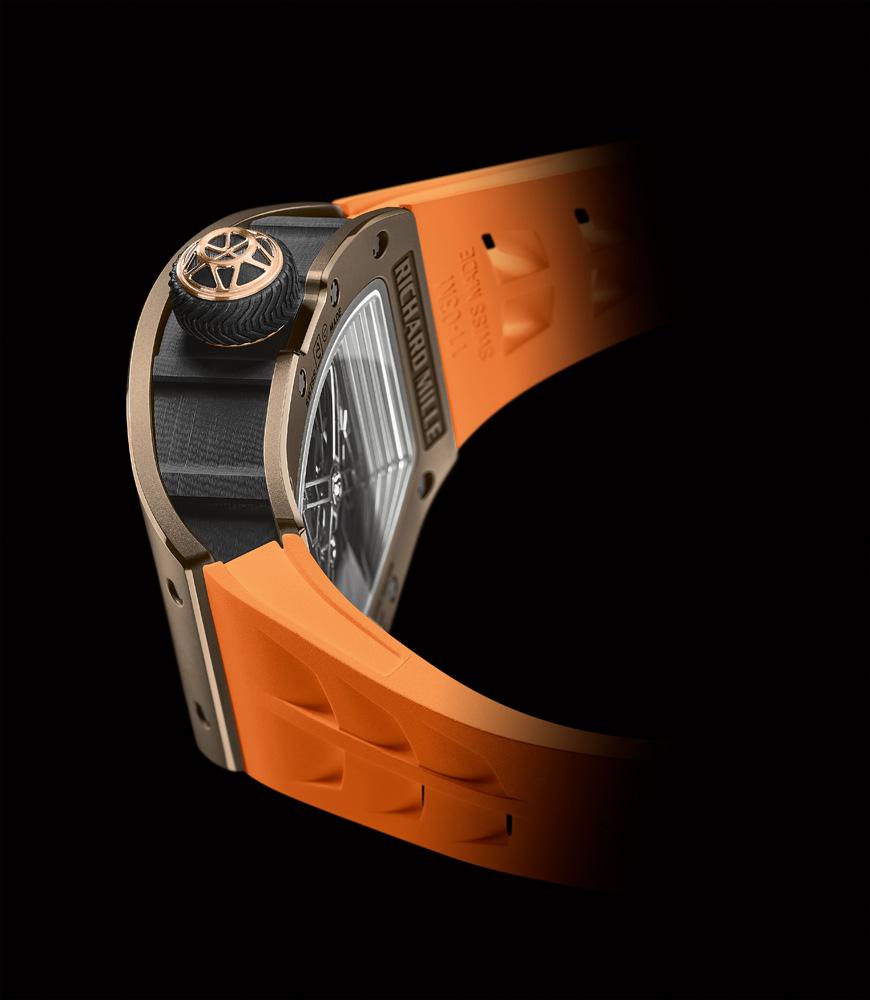 La montre Richard Mille RM 52-05 Tourbillon Pharrell Williams.