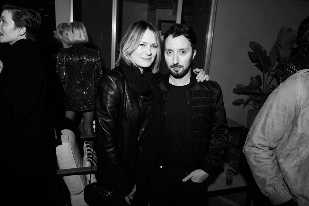 Robin Wright et Anthony Vaccarello