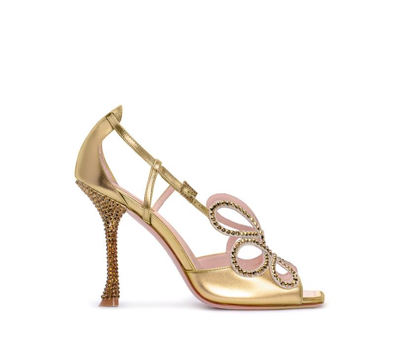 Vivier Queen Sandal par Roger Vivier