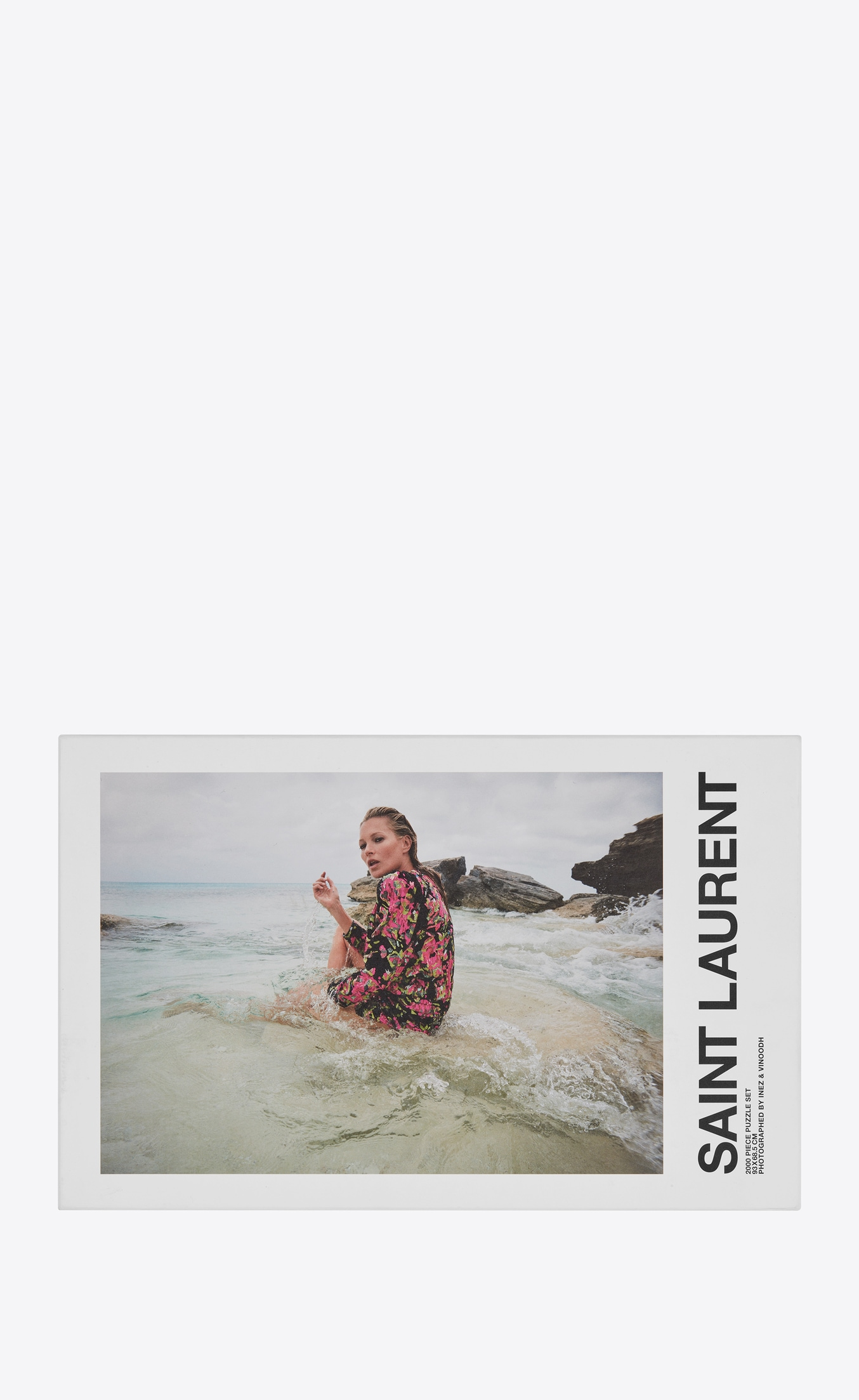 Puzzle Kate Moss Saint Laurent Rive Droite